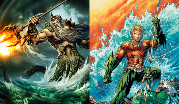 The Justice League As The Greek Gods A Place To Hang