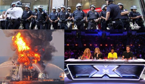 Corporate policing, toxic waste and lowest common denominator TV