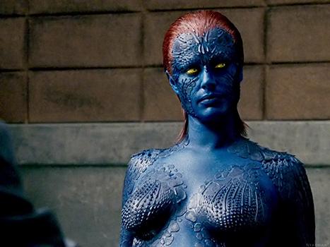 X Men Mystique Body Paint