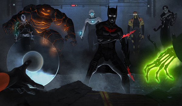 Batman Beyond Villains Top 6 Characters DC Sh...