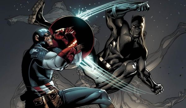 Cap vs BlackPanther
