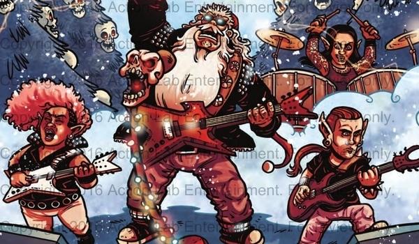 REVIEW Sleigher Heavy Metal Santa Claus Is Adrenaline