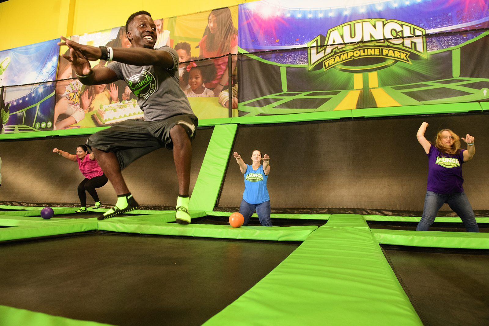 Launch Trampoline Park Find A Location
