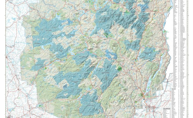 Adirondack Park Agency Maps And Gis
