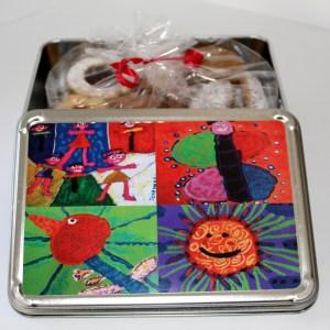 Caja Edicion Especial llena de galleta surtida