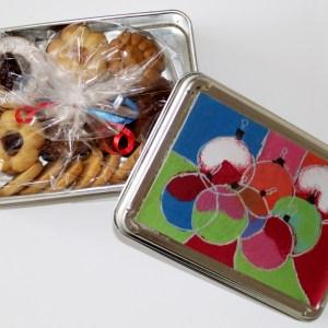 Caja Navidad con galleta surtida