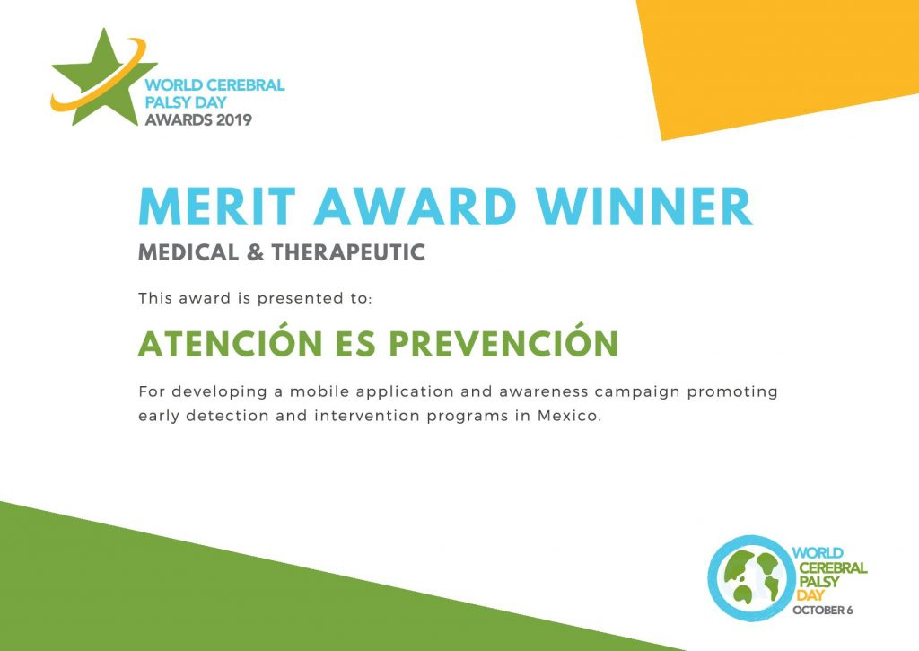 Merit Award Atencion es Prevencion