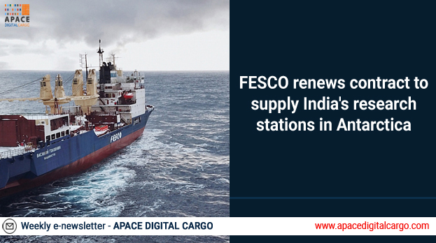 FESCO renews contract to supply India's research stations in Antarctica