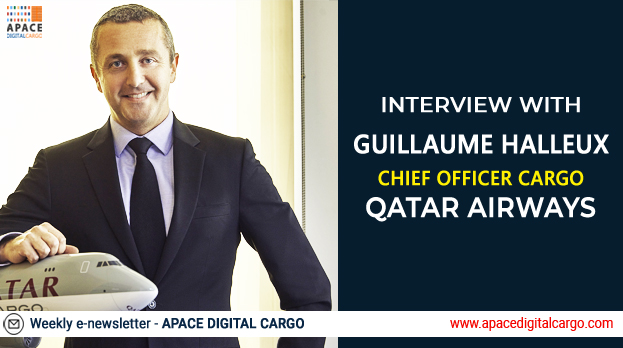 Latest Interview with Guillaume Halleux, Chief Officer Cargo, Qatar Airways