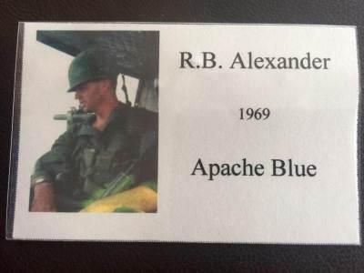 Lt. RB Alexander