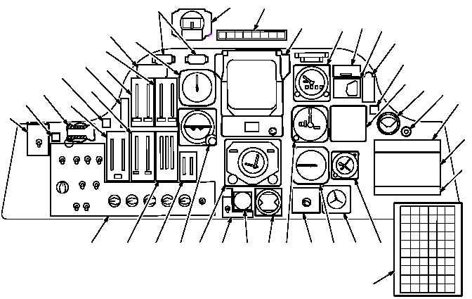 Figure 2-9. Pilot Instrument Panel