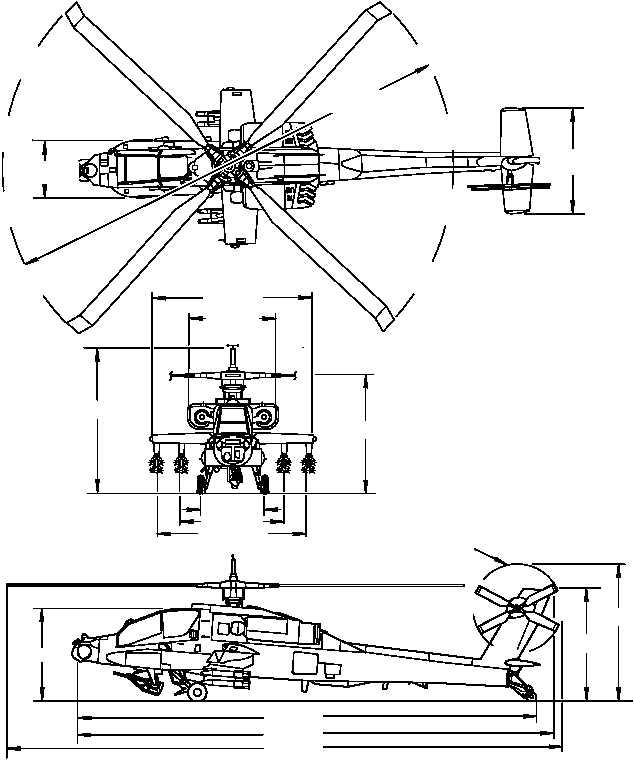 HELICOPTER DIMENSIONS