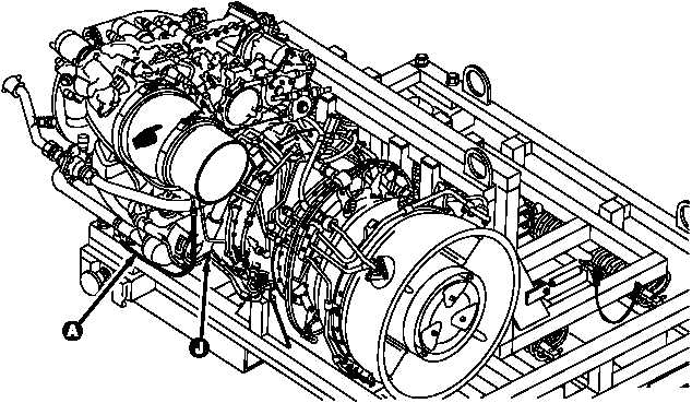 ENGINE TEARDOWN NO. 1 AND NO. 2 ENGINE DRAIN SYSTEM