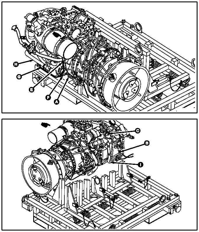 ENGINE BUILDUP NO. 1 AND NO. 2 ENGINE DRAIN SYSTEM