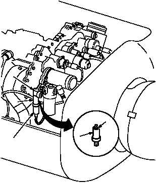 NO. 2 ENGINE FUEL PRESSURE SWITCH REPLACEMENT continued