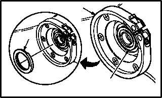 MAIN TRANSMISSION GENERATOR SEAL REPLACEMENT continued
