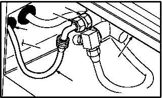 MAIN TRANSMISSION LUBE SYSTEM HOSE (RIGHT SIDE