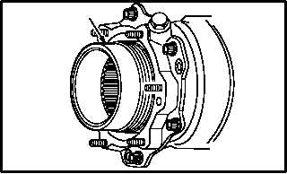 INTERMEDIATE GEARBOX INPUT SEAL ASSEMBLY REMOVAL