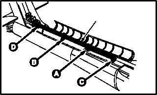 NO. 5 TAIL ROTOR DRIVE SHAFT, DAMPER, AND ANTI-FLAIL