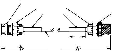 Figure D-433. Cable Assembly, Extension PN 7-362100092