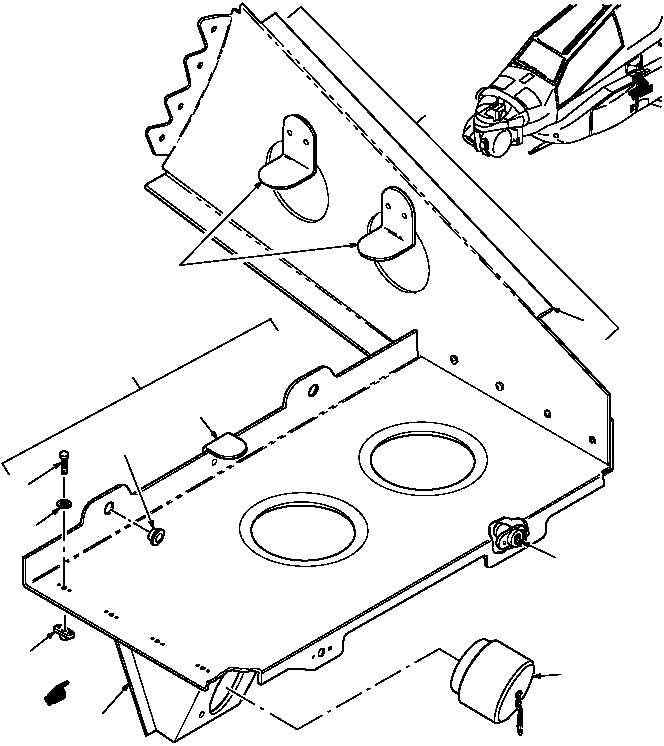 Figure 58. Group 02 Bracket Assembly Installation, Rounds