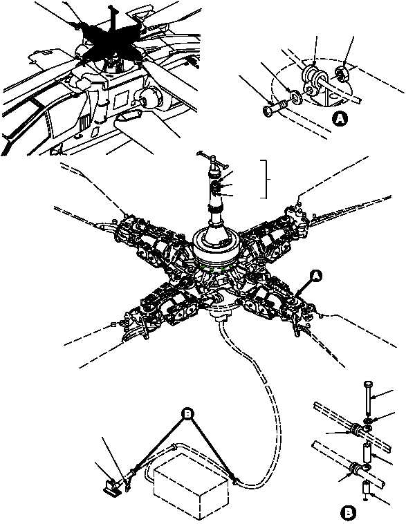 Figure 393. Group 09 Wiring Installation, Main Rotor