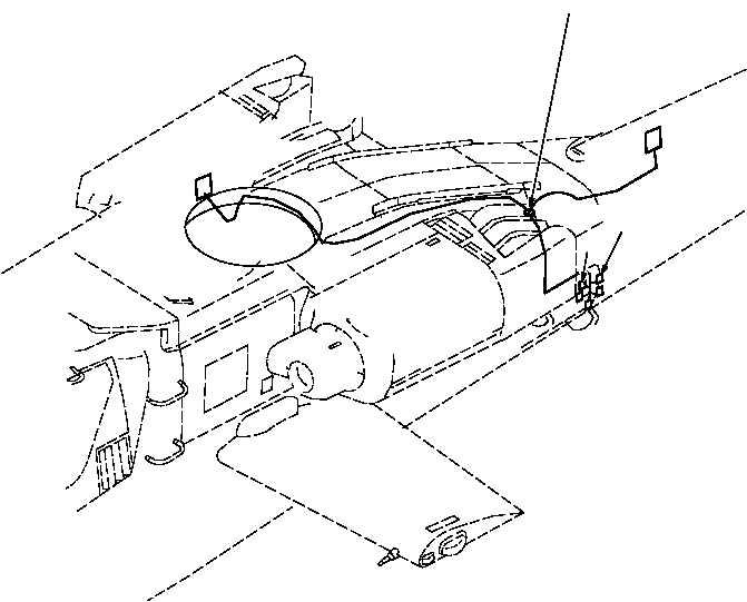 Figure 554J. Group 09 Wiring Harness, Right Sensors W672