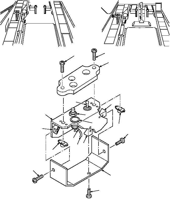 Figure 595. Group 11 Switch Assembly, Stabilator, Manual