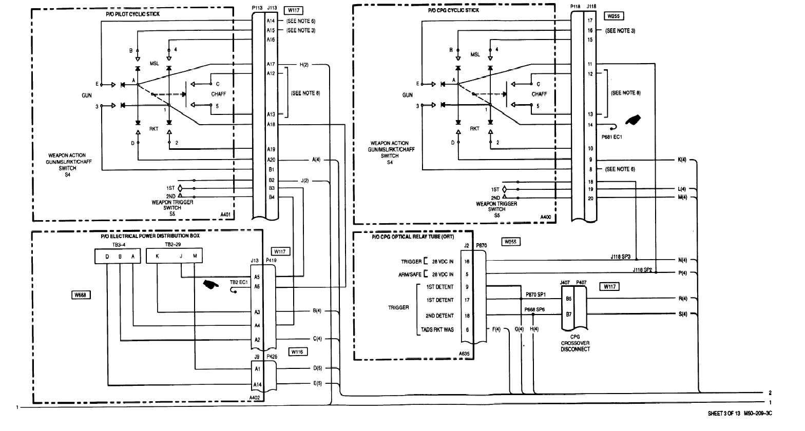 Sheet 3 0f 13 M50 209 1a