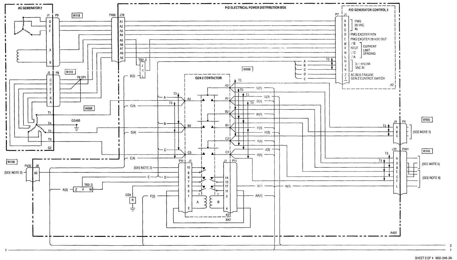 Sheet 2 Of 4 M50 246 2a