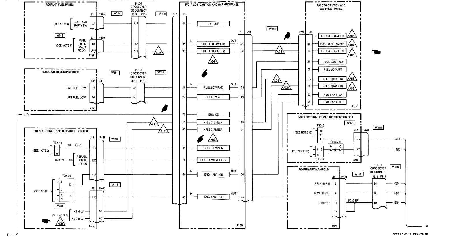Sheet 8 Of 14 M50 256 8b