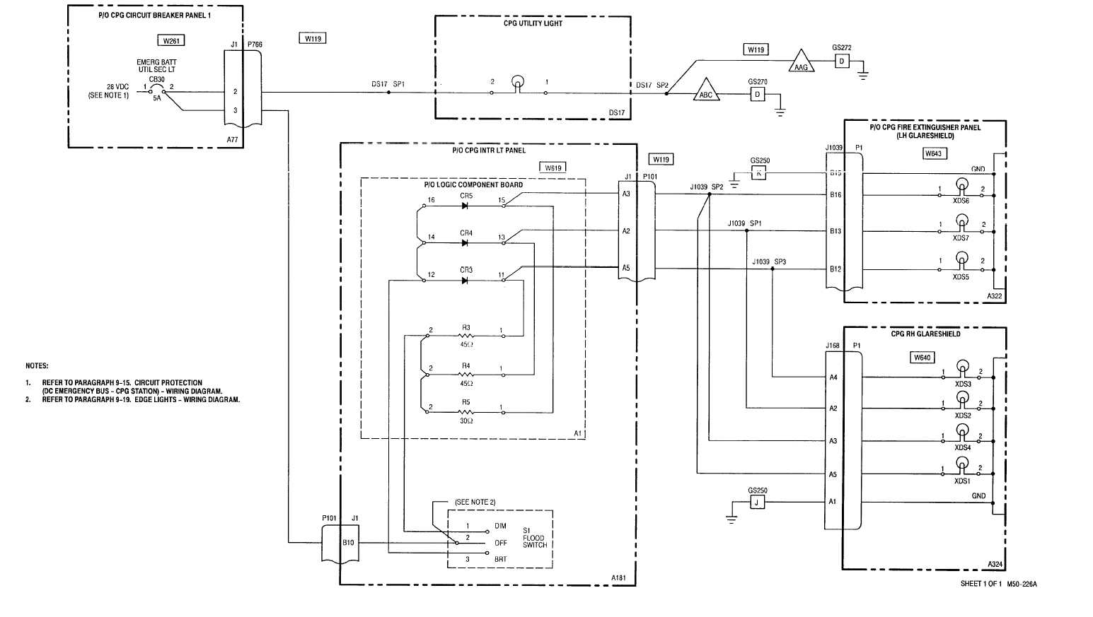 9 20 Cpgutility And Secondary Lights Wiring Diagram