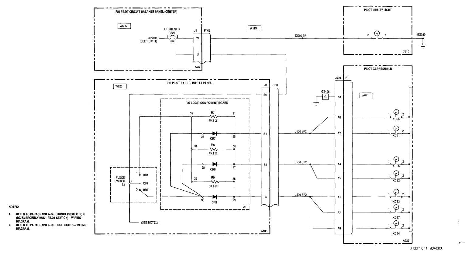 921 Pilot Utility And Secondary Lights Wiring Diagram