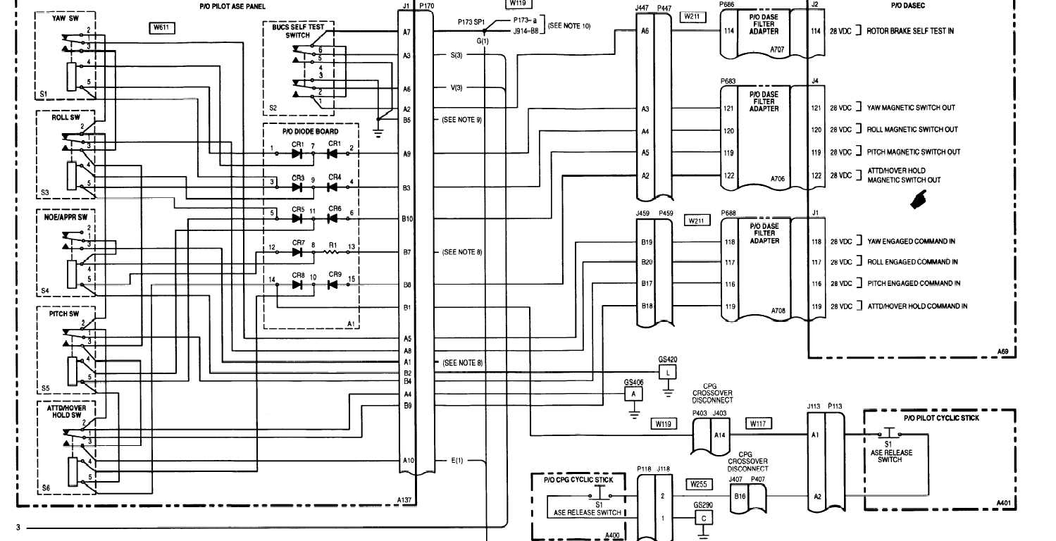 12 2 Dase Wiring Diagram Bucs Activated Serial No 88 And Subsequent Cont
