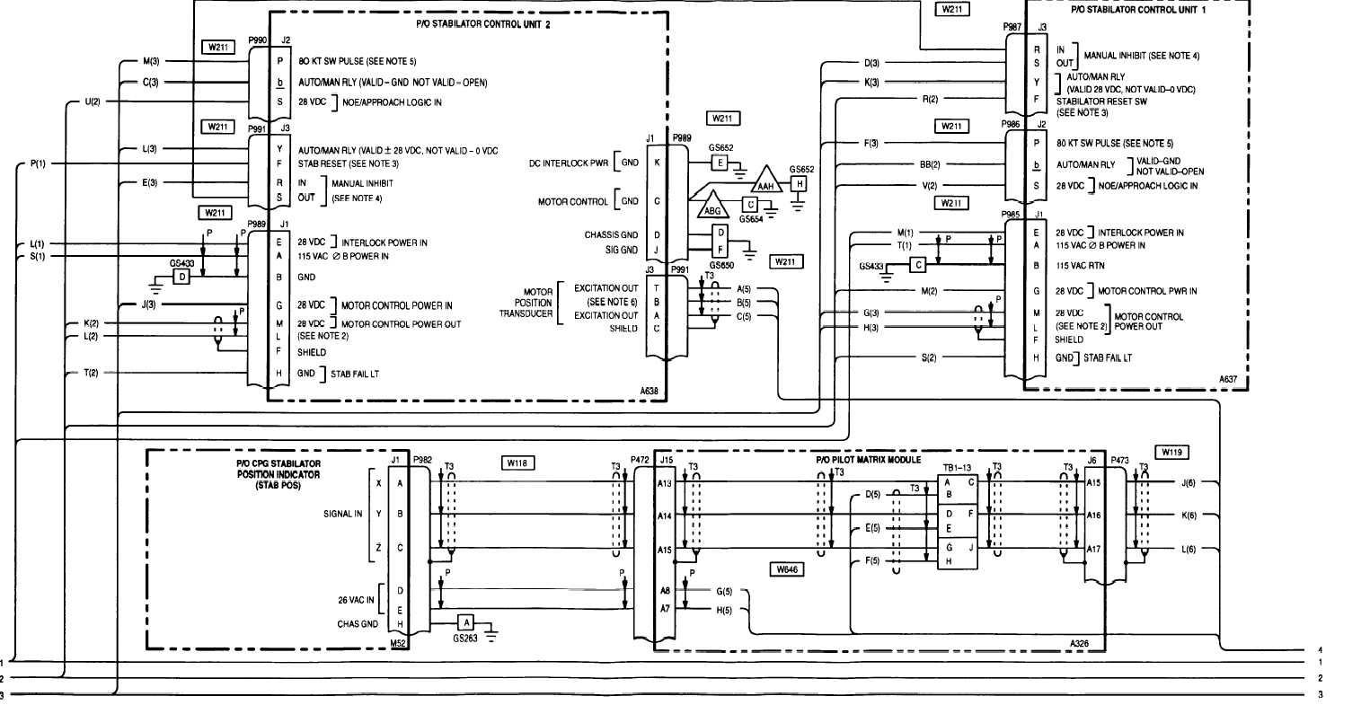 12 4 Stabilator Wiring Diagram Cont