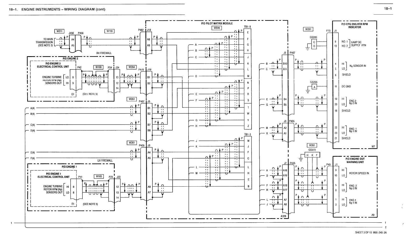 18 1 Engine Instruments Wiring Diagram Cont
