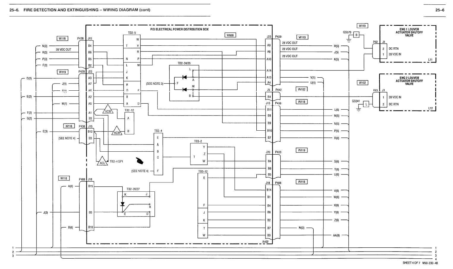 25 6 Fire Detection And Extinguishing Wiring Diagram