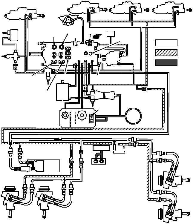 Figure 712. Utility Hydraulic System Functional Diagram