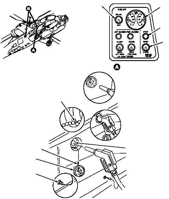 Figure 1073. Refueling Panel and Filler Port