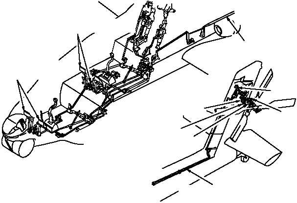Figure 1124. Directional Control System LVDT and SPAD