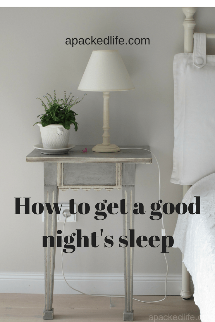 How to get a good nights sleep