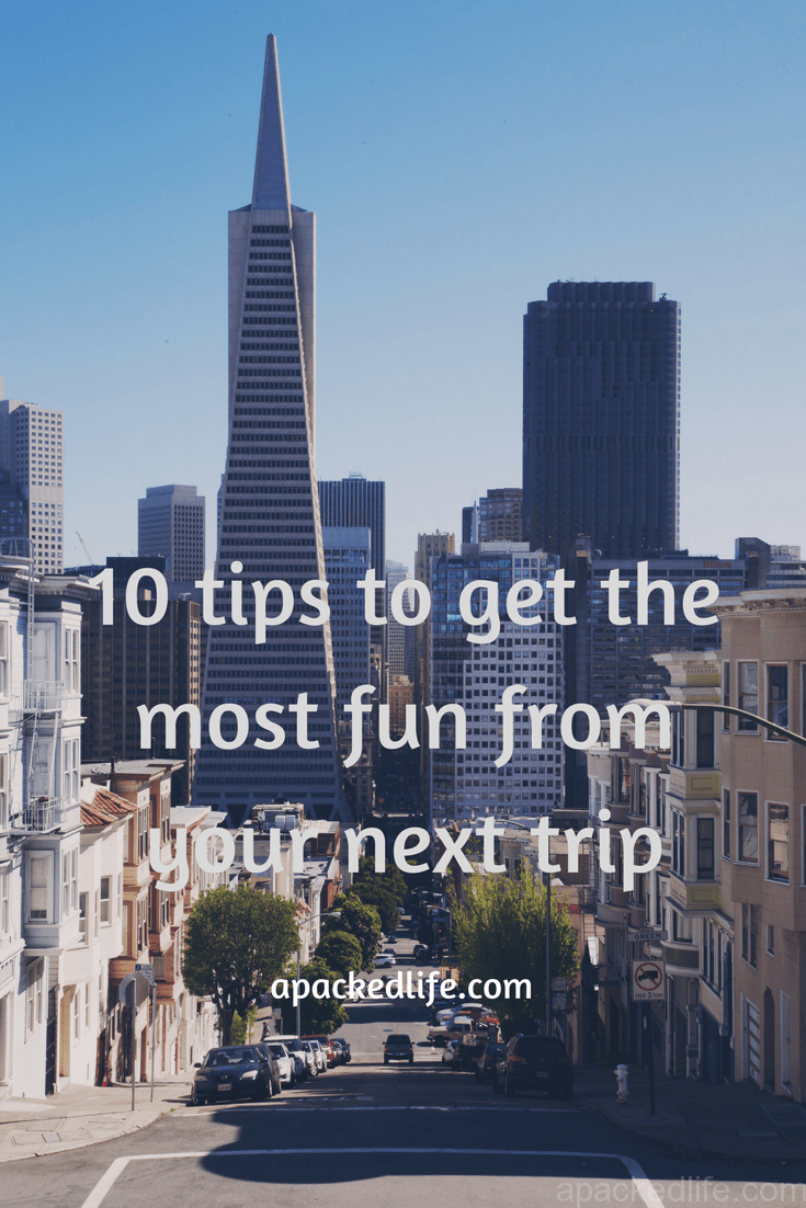 Choosing the trip you want. not the one you think you should have