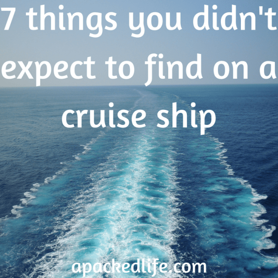 Leave your preconceptions on the gangway:it's a cruise but not as we know it