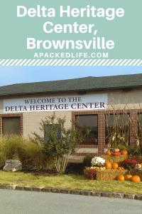 Delta Heritage Center, Brownsville, West Tennessee