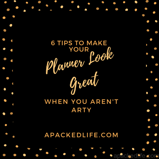 Planner and Journal Inspiration for making your planner look good.