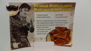 If your arteries feel insufficiently hardened, you can try out Elvis's favourite sandwich recipe, Memphis, Tennessee
