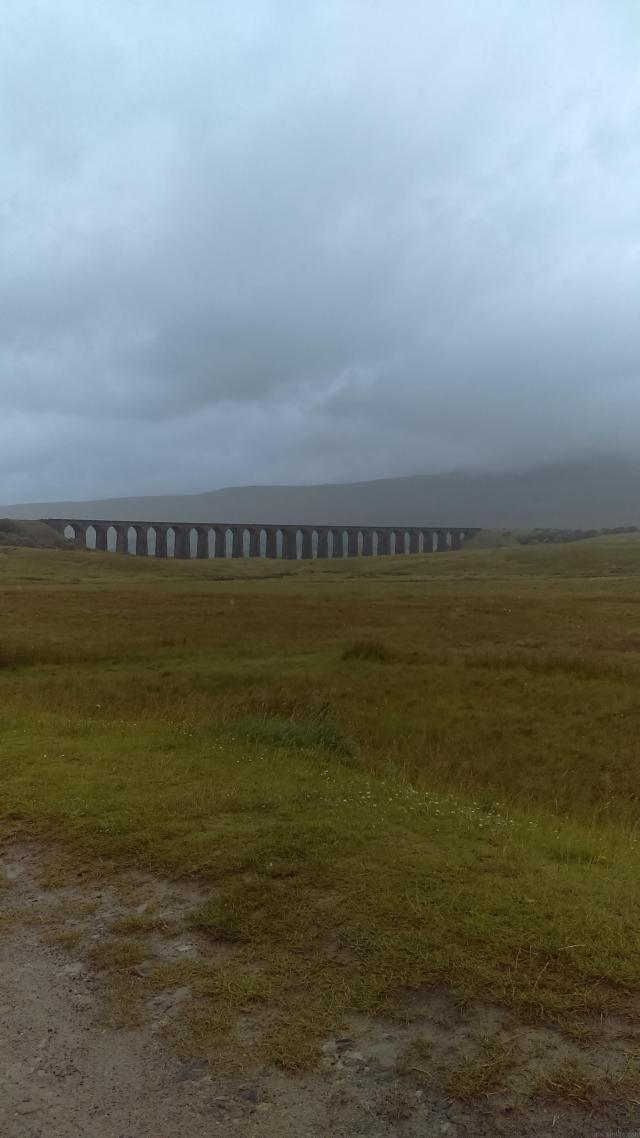 Even on the gloomiest day, Ribblesdale Viaduct is magnificent