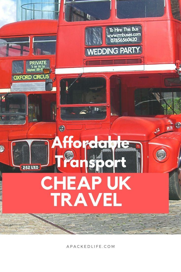 Cheap travel UK, affordable travel UK