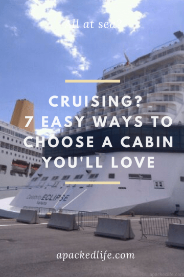All at sea? 7 easy ways to choose a cruise cabin you'll love