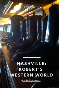 Nashville, Tennessee: Robert's Western World. Country, Bluegrass, Singer Songwriters. Honky Tonk Bliss.